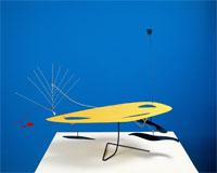 Alexander Calder - Móbile Amarelo, Preto, Vermelho e Branco, s.d.